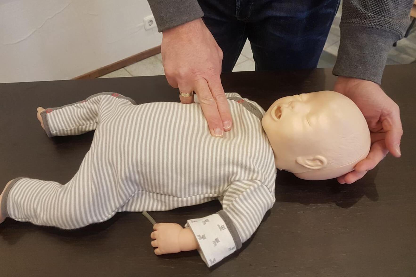 Basiscursus reanimatie baby en kind