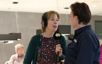 Op bezoek bij Radio 5 Open Huis van de EO